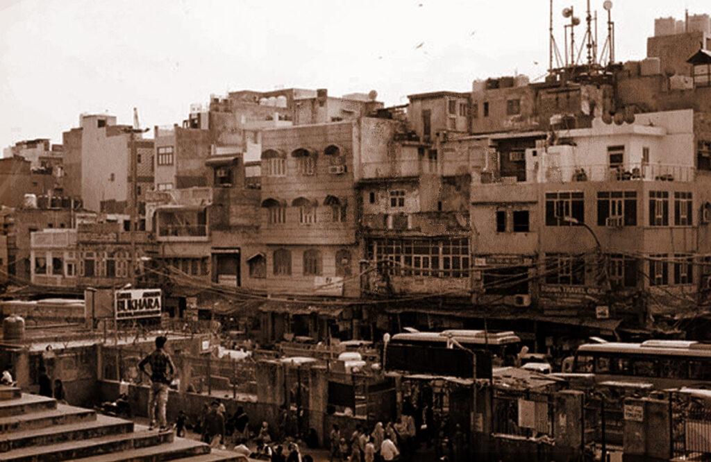 A view of Urdu Bazar