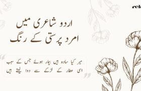 Urdu Shayari mein amrad parasti ke rang
