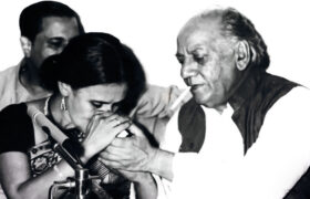 Sajida Zaidi and Faiz Ahmad Faiz