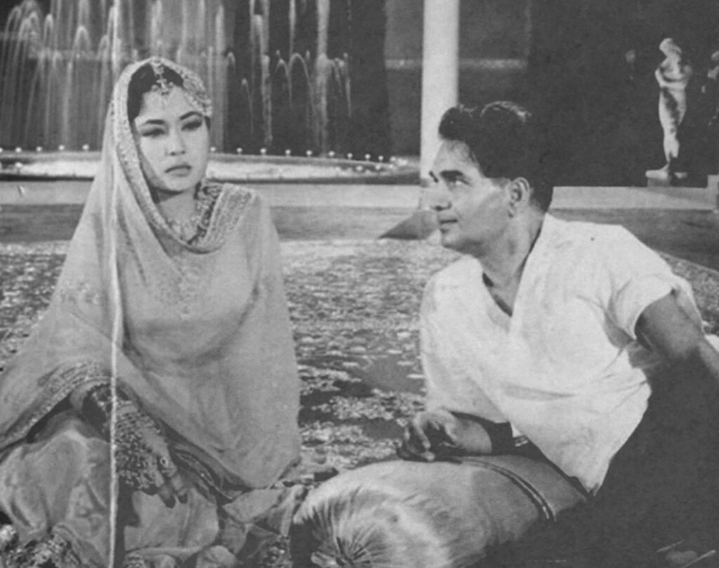Meena Kumari and Kamal Amrohi